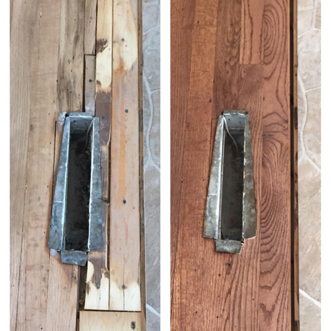 Have UGLY boards? Let us replace your ugly floor boards when we refinish and put a beautiful smile on your face.